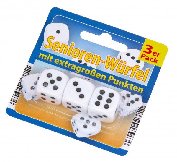 Senioren Würfel 3er Pack