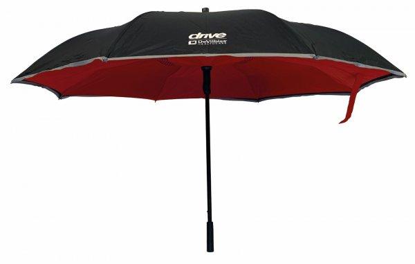 Drive Rollator-Regenschirm Reverse universal rot