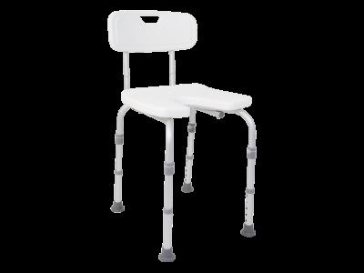 Duschstuhl mit Rückenlehne DH 135