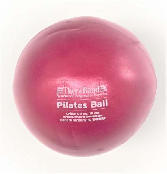 Pilates Ball Thera Band 18 cm rot