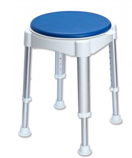 Rollafit Duschhocker, mit drehbarem Sitz